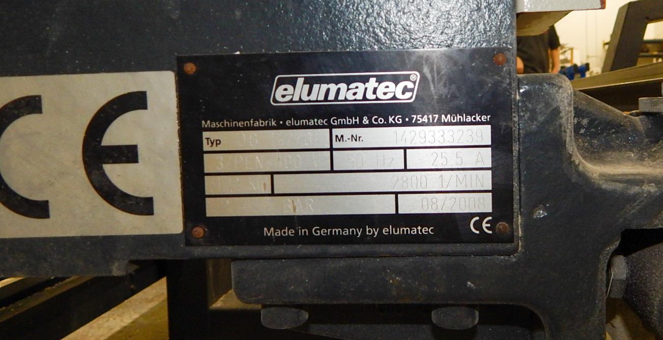 ELUMATEC (2008) DG142 E355 DOUBLE HEAD MITER SAW - Image 4 of 10