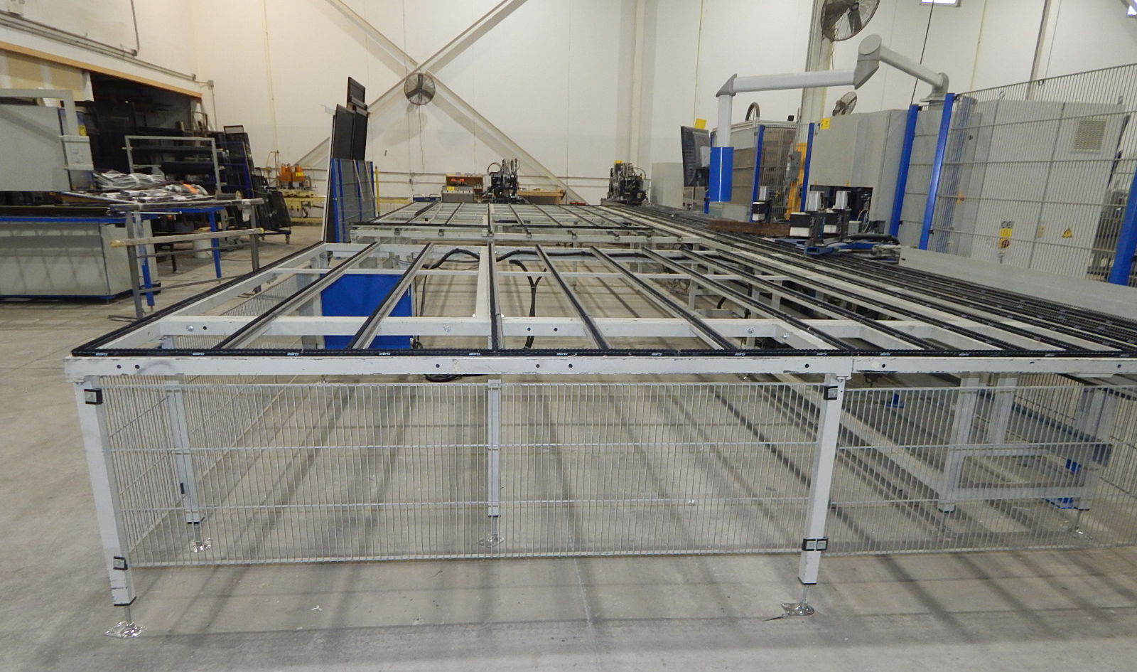 STURTZ (2008) CNC AUTOMATED PVC WELDING AND CLEANING LINE CONSISTING OF, STURTZ (2008) 2MC CNC - Image 7 of 9