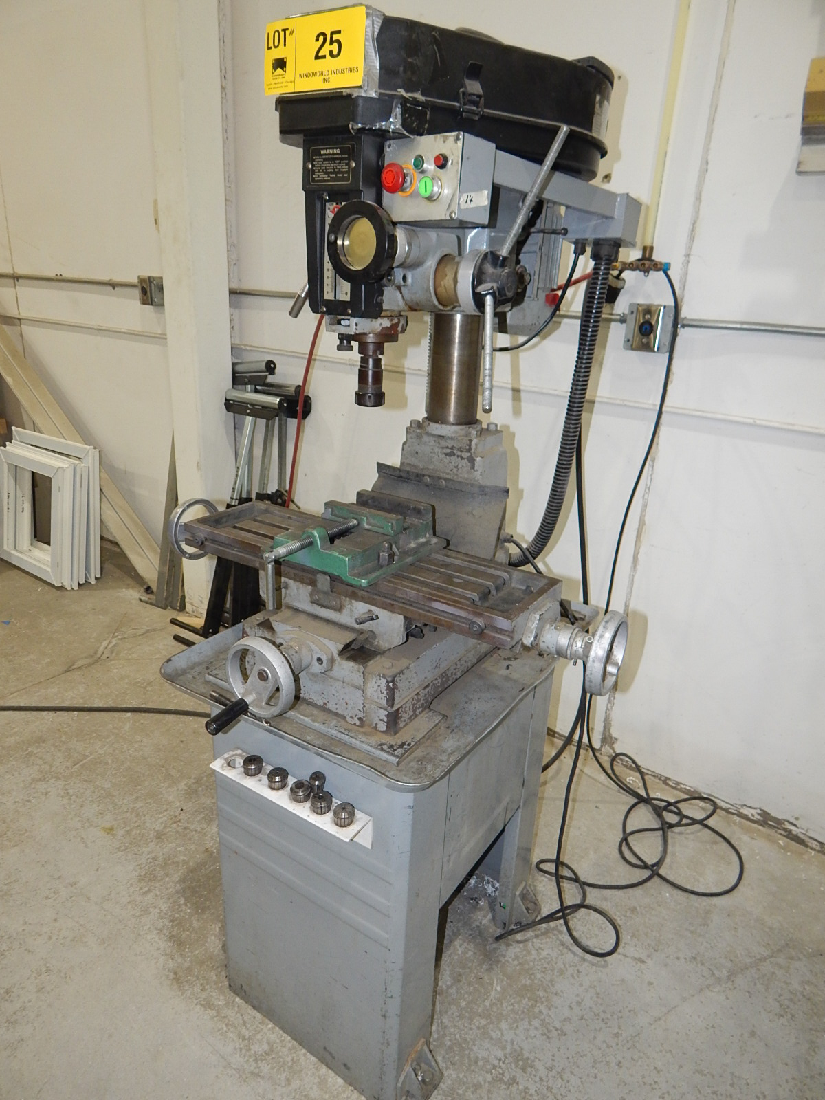 TECHPLUS BENCH TYPE MILLING MACHINE WITH SPEEDS UP TO 2150 RPM S/N: N/A (CI) - Image 3 of 5