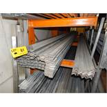 LOT/ GALVANIZED STEEL VARIOUS PROFILES