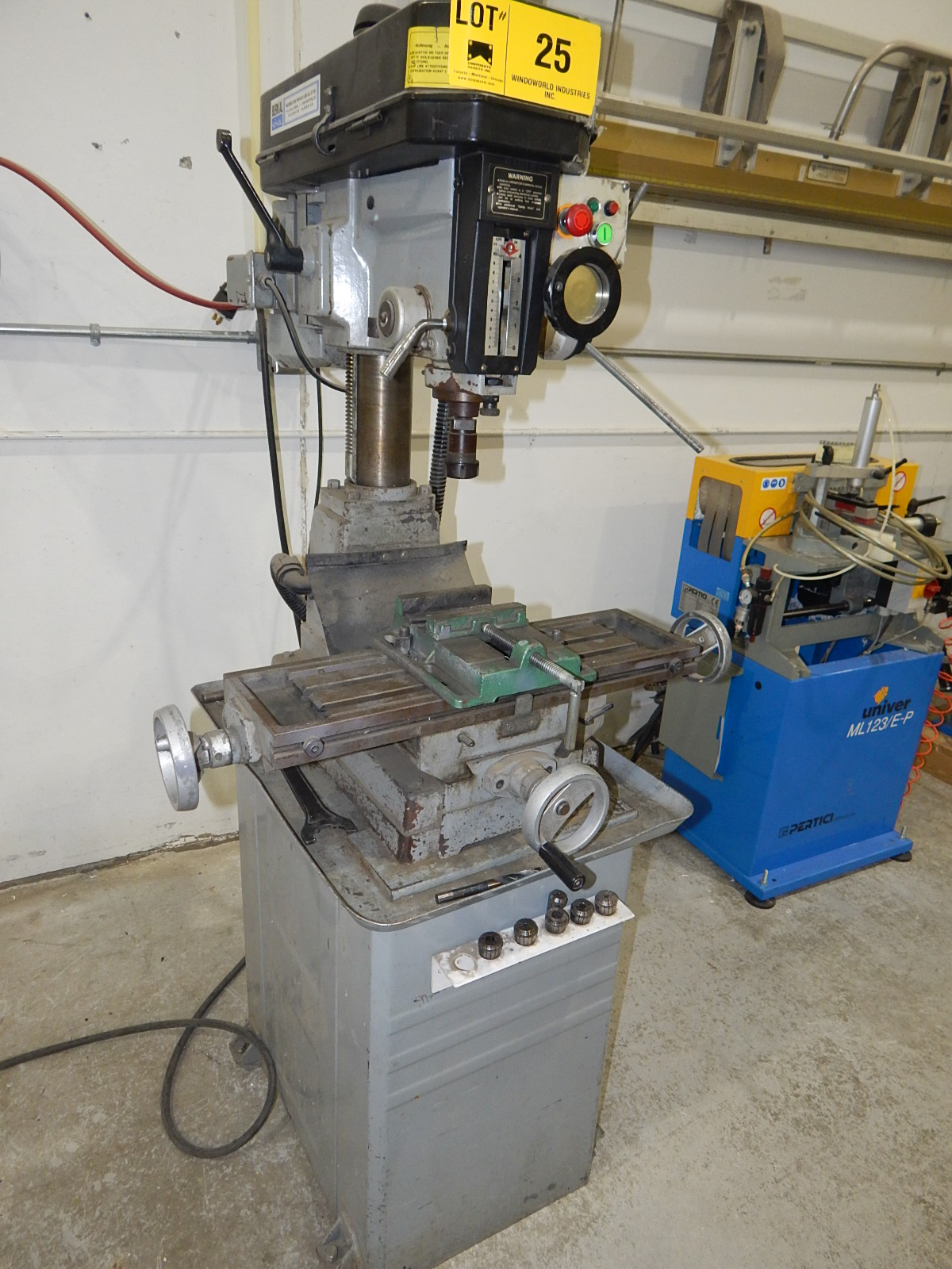 TECHPLUS BENCH TYPE MILLING MACHINE WITH SPEEDS UP TO 2150 RPM S/N: N/A (CI) - Image 2 of 5