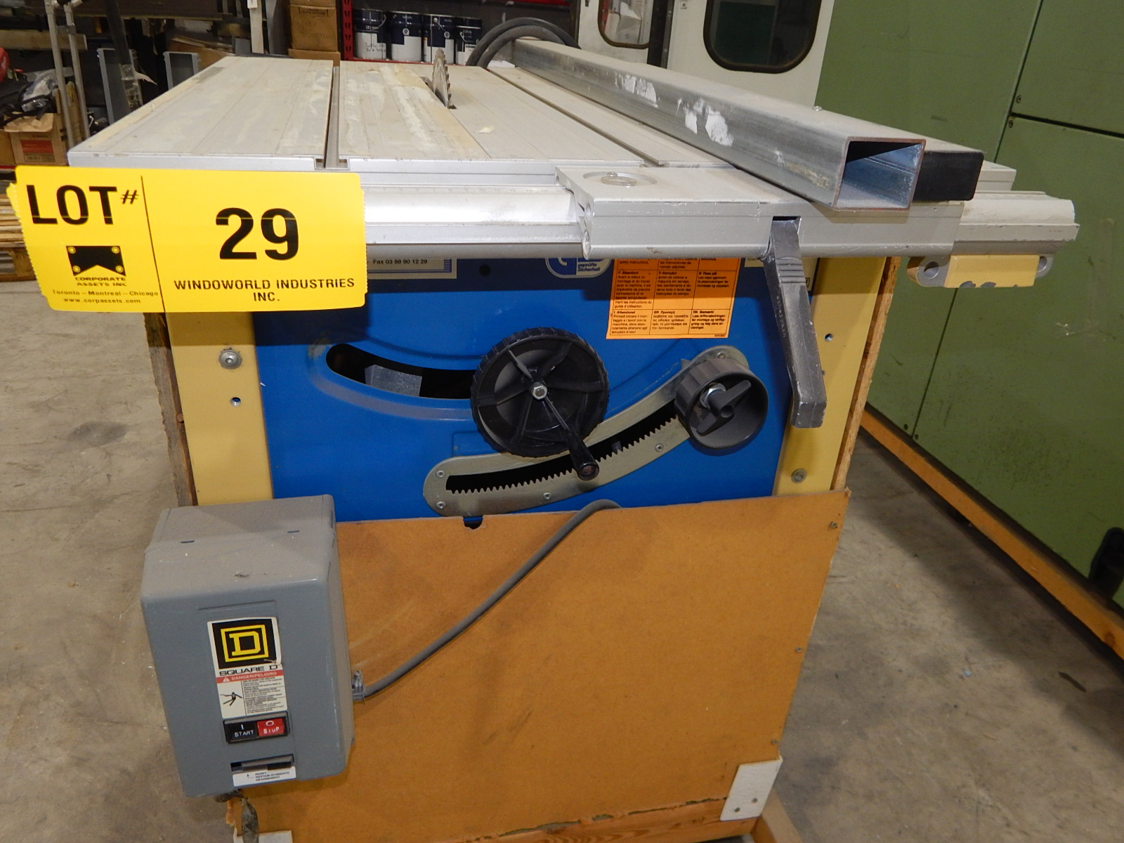 """GS 10"""" TABLE SAW S/N: N/A - Image 2 of 2"""