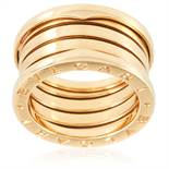 A B.ZERO1 FOUR BAND RING, BULGARI in 18ct yellow gold, signed BVLGARI, size M / 6, 10.8g.
