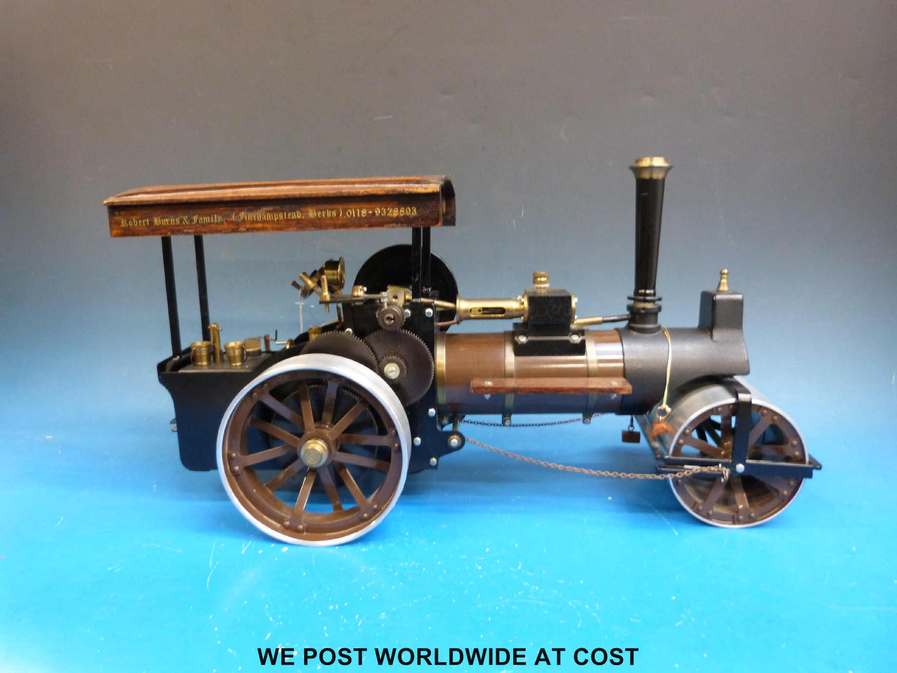 A 3/4 inch scale Markie precision working live steam model \'Little ...