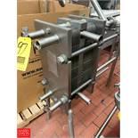 APV S/S Plate Heat Exchanger, Model TSR15, S/N 394498 Rigging Fee: $150 *LOCATED IN: Kiel,
