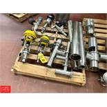 Assorted On-Line Filter Shells, Control Valves, Angle Valves and More Rigging Fee: $75 *LOCATED