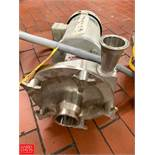 """Fristam 3 HP Pump with Baldor 1,760 RPM Motor, 2"""" x 2.5"""" S/S Head, Clamp Type Rigging Fee: $50 *"""