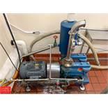 Vacuum Pump with 20 HP 1,765 RPM Motor