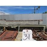 Hytrol 13'' x 240''L Power Roller Conveyor