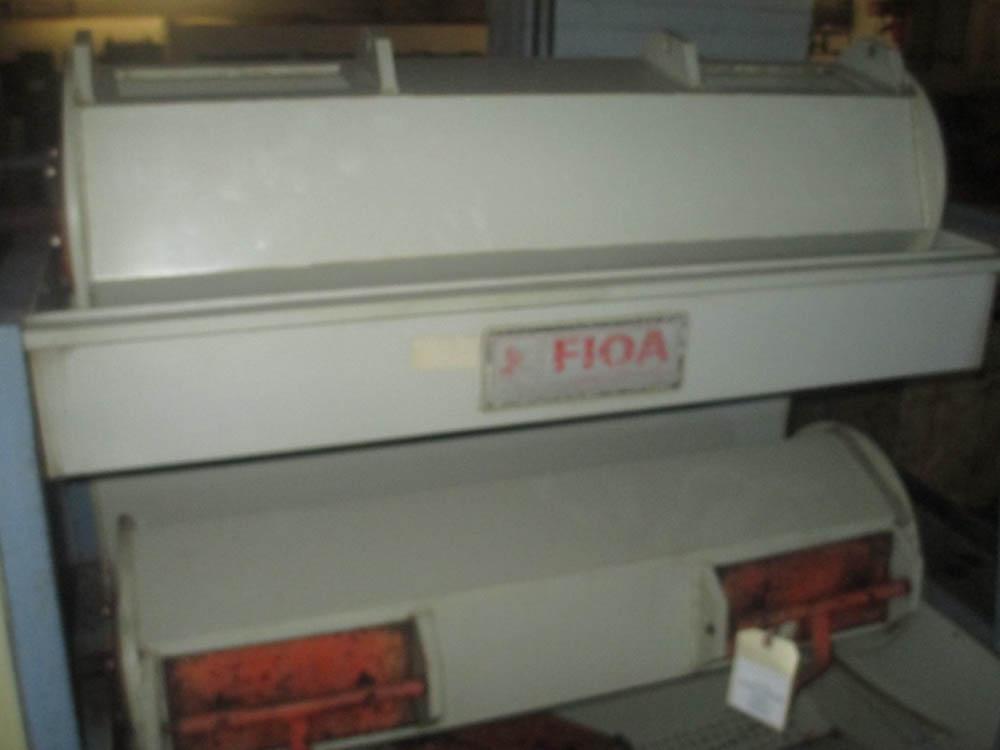Lot 41 - FIOA 2 BARREL WET TUMBLER FINISHING MACHINE, VOLTAGE (V/PH/HZ) 475/3/50, 2 BARREL, 3 COMPARTMENTS