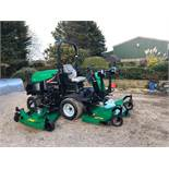 RANSOMES HR6010 BATWING RIDE ON LAWN MOWER, ONLY 144 HOURS, YEAR 2014, 4 WHEEL DRIVE *PLUS VAT*