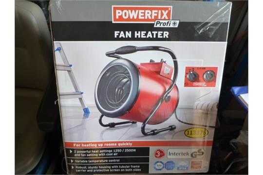 Powerfix Profi Fan Heater 1250