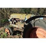 Vintage Fordson Major Diesel Tractor