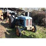 Vintage Fordson Major Tractor and Topper