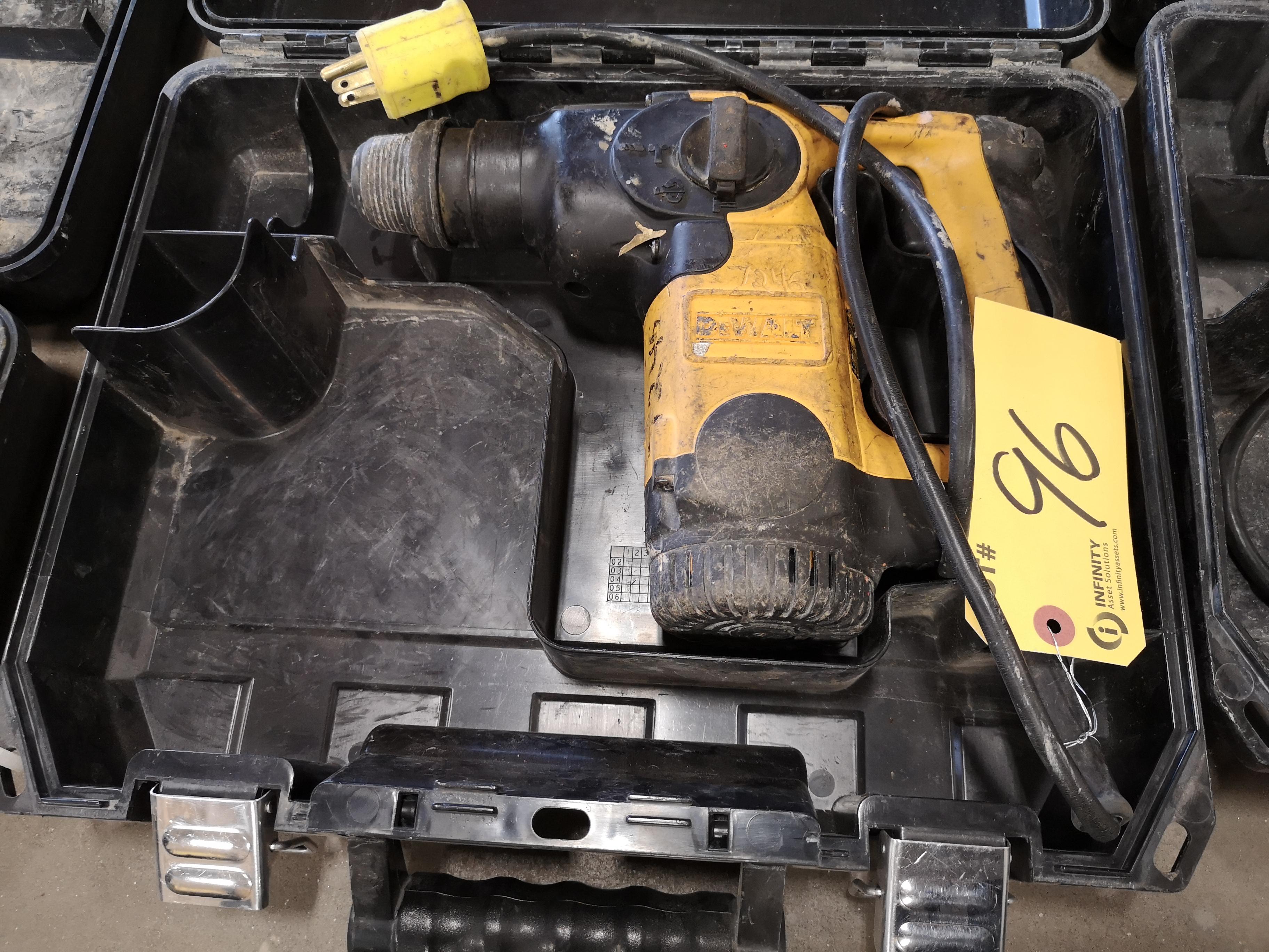 DEWALT D25303 L-SHAPE THREE MODE SDS ROTARY HAMMER DRILL (LOCATED AT 1135 STELLAR DRIVE,