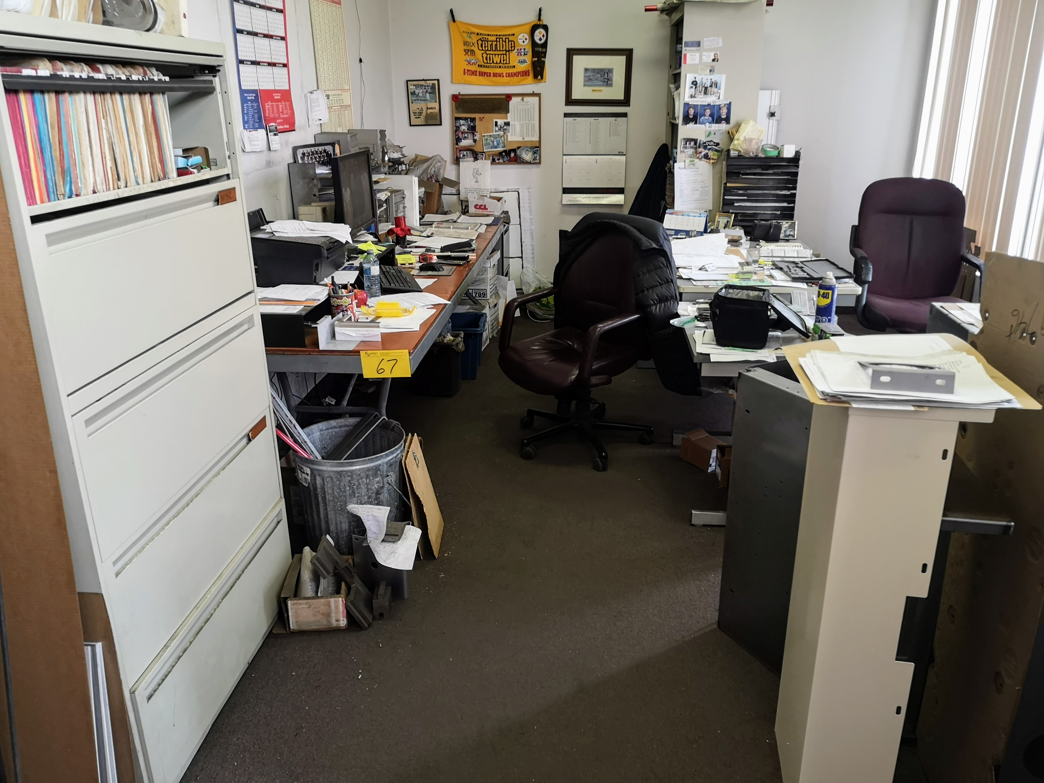CONTENTS OF OUTTER OFFICE (NO PERSONAL EFFECTS OR COMPUTER EQUIPMENT)