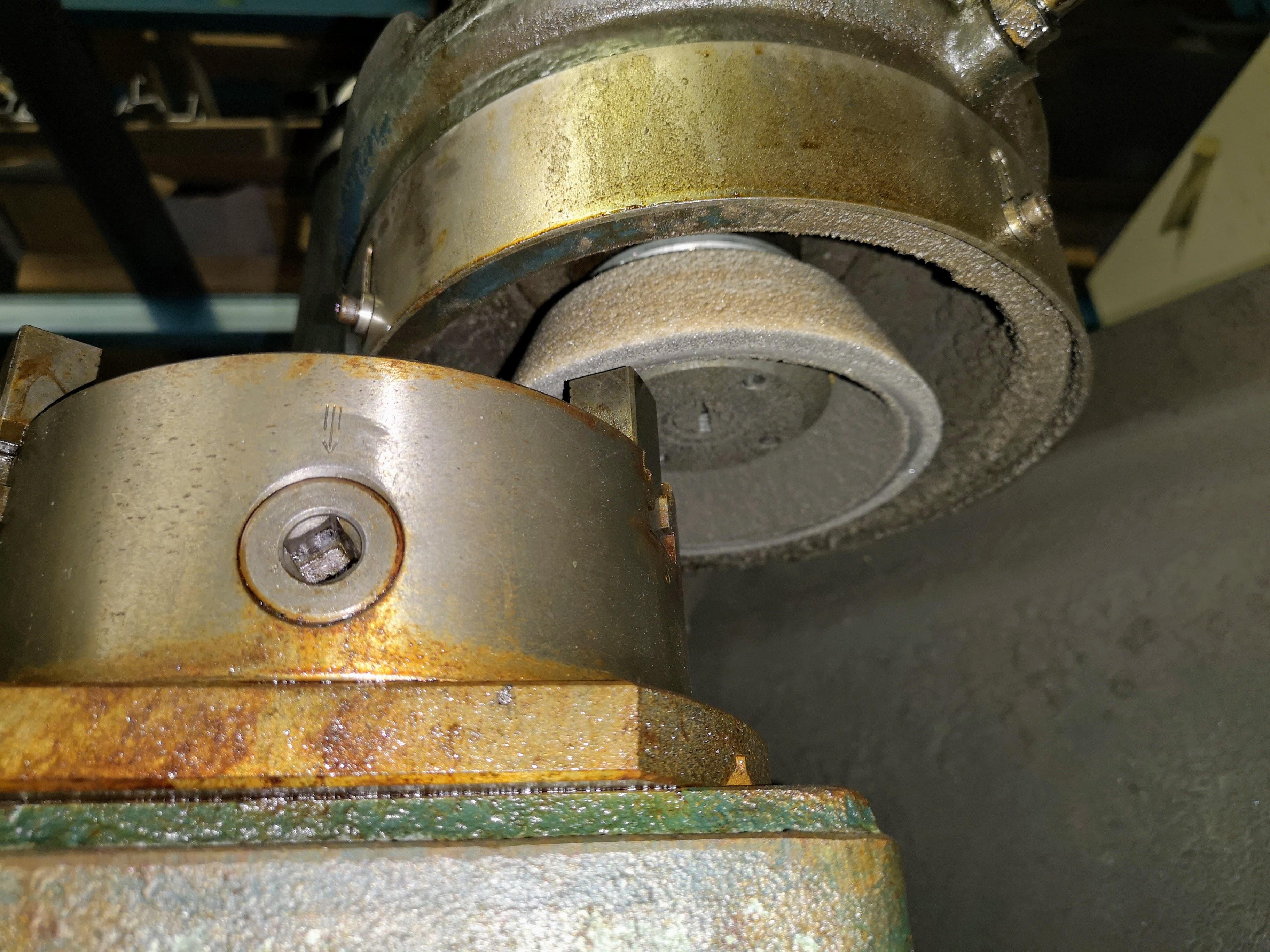 Lot 6 - AMADA TEG-160E PUNCH GRINDER, S/N HF 2421