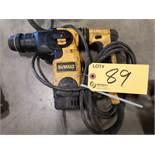 DEWALT D25323 L-SHAPE THREE MODE SDS ROTARY HAMMER DRILL (LOCATED AT 1135 STELLAR DRIVE,