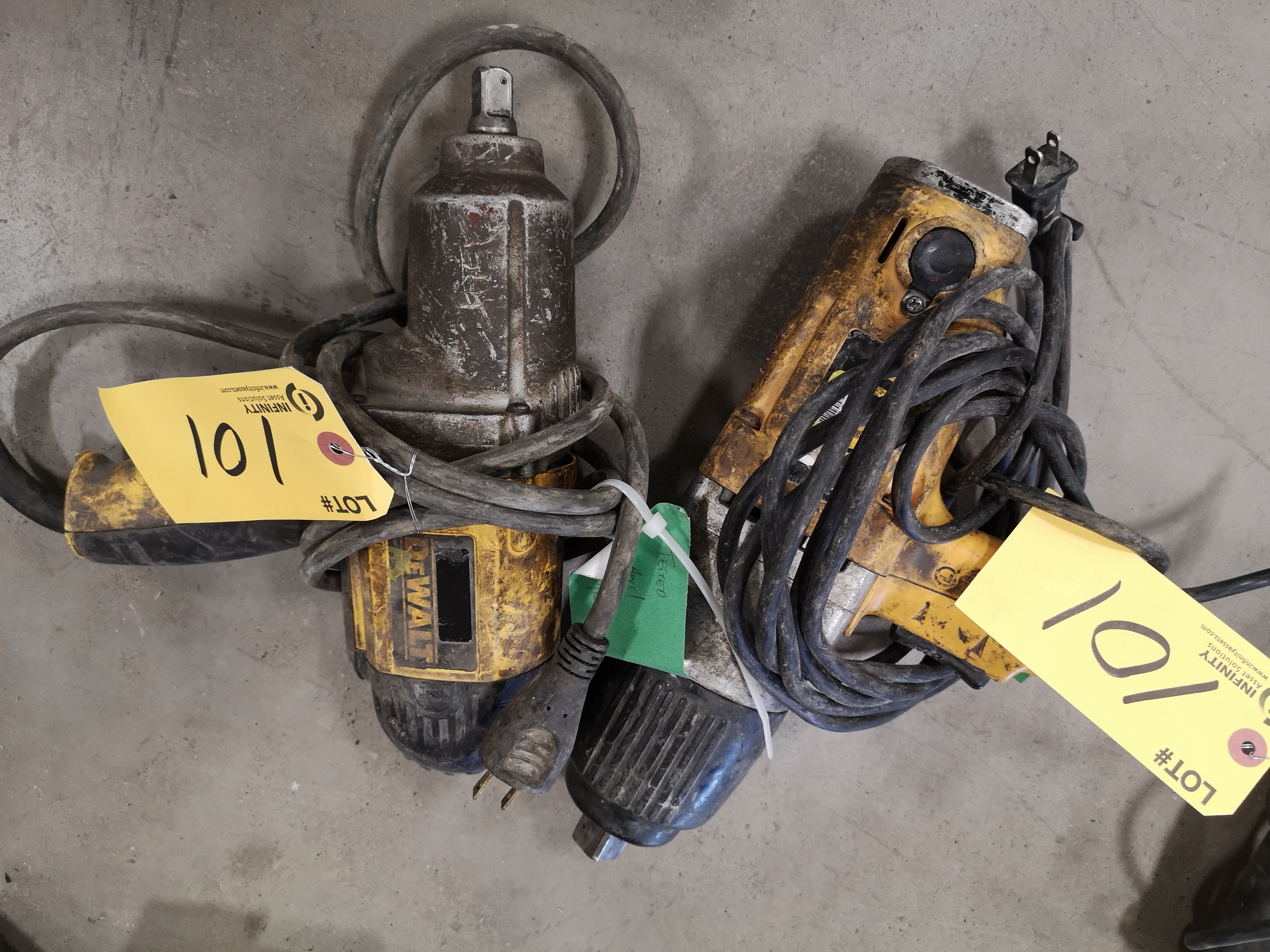 """3/4"""" X 1/2"""" DEWALT SQUARE IMPACT WRENCH (LOCATED AT 1135 STELLAR DRIVE, NEWMARKET, ON)"""