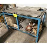 "61"" X 36"" WELDING SETUP TABLE W/ ADJUSTABLE JIG"