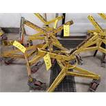 LOT OF (4) 3-WHEEL PORTABLE PIPE STANDS (LOCATED AT 1135 STELLAR DRIVE, NEWMARKET, ON)