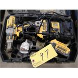 """DEWALT 20V MAX DCD995 1/2"""" CORDLESS HAMMER DRILL W/ (2) BATTERIES AND CHARGER (LOCATED AT 1135"""