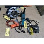 LOT MASTERCRAFT CIRCULAR SAW, PNEUMATIC TOOLS, ELECTRIC DRILL