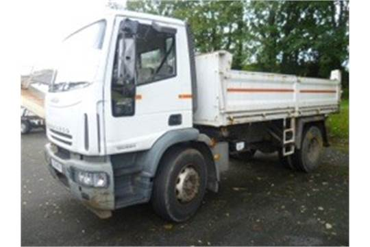 Iveco Eurocargo 18 tonne tipper lorry Registration Number: FJ06 MFA