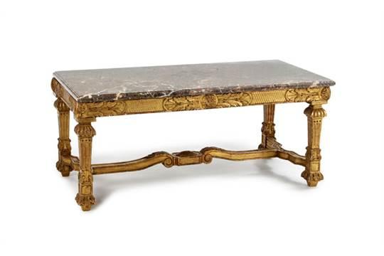Table style louis xiv - Table basse louis xiv ...