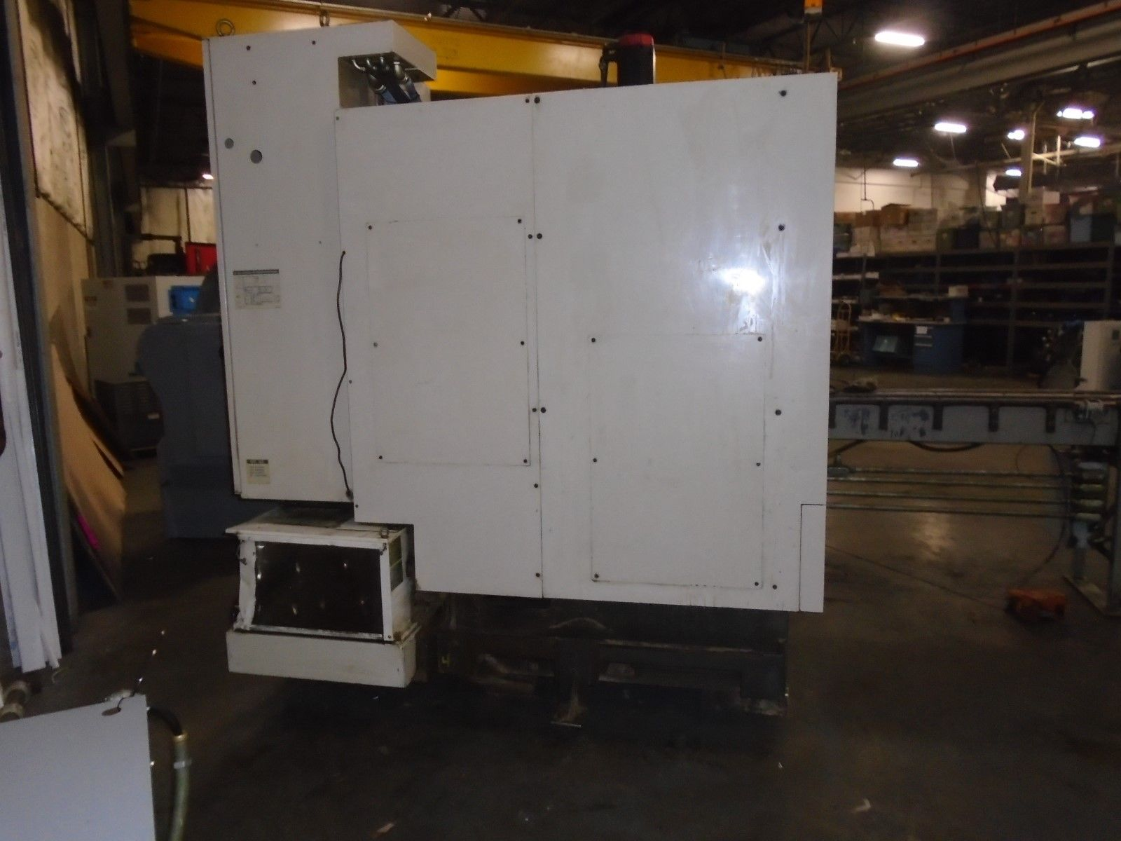 Hitachi Seiki CS20 Vertical CNC Lathe 10L Seicos Control 1998 - Image 4 of 12