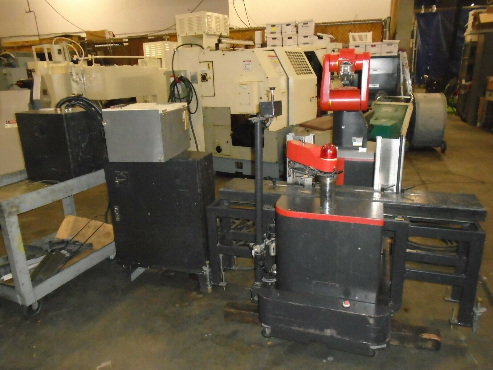 Fanuc Robot LR Mate 100 A5B-1131-8001 Mini Cel R-J2 Control
