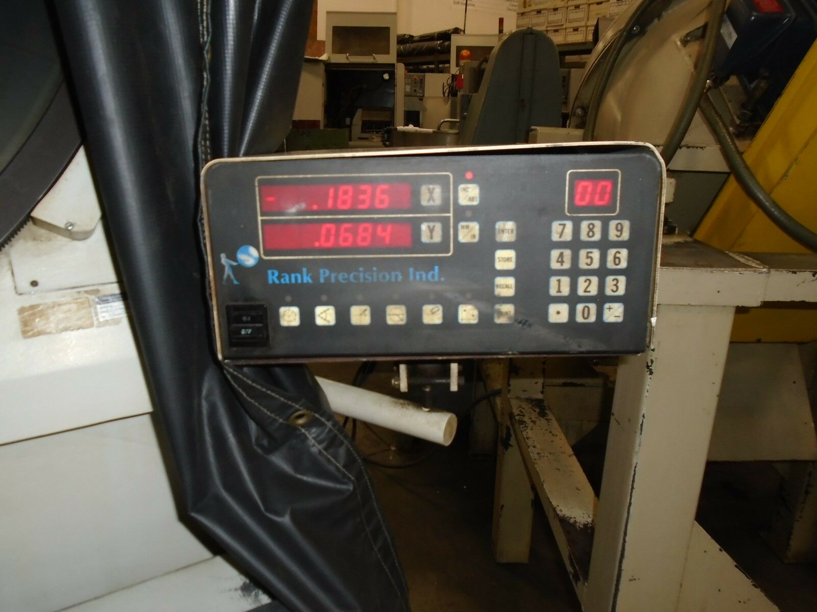 "Scherr Tumico Model 22-2500 Comparator, DRO, 30"" Screen - Image 4 of 8"