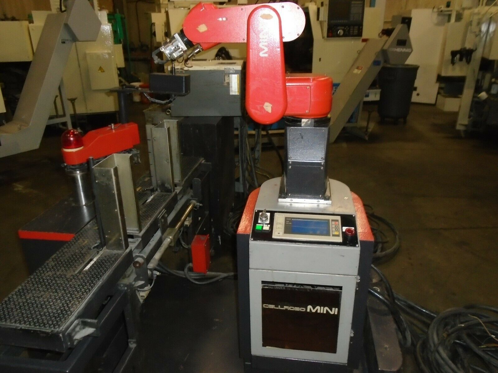 Fanuc Robot LR Mate 100 A5B-1131-8001 Mini Cel R-J2 Control - Image 4 of 12