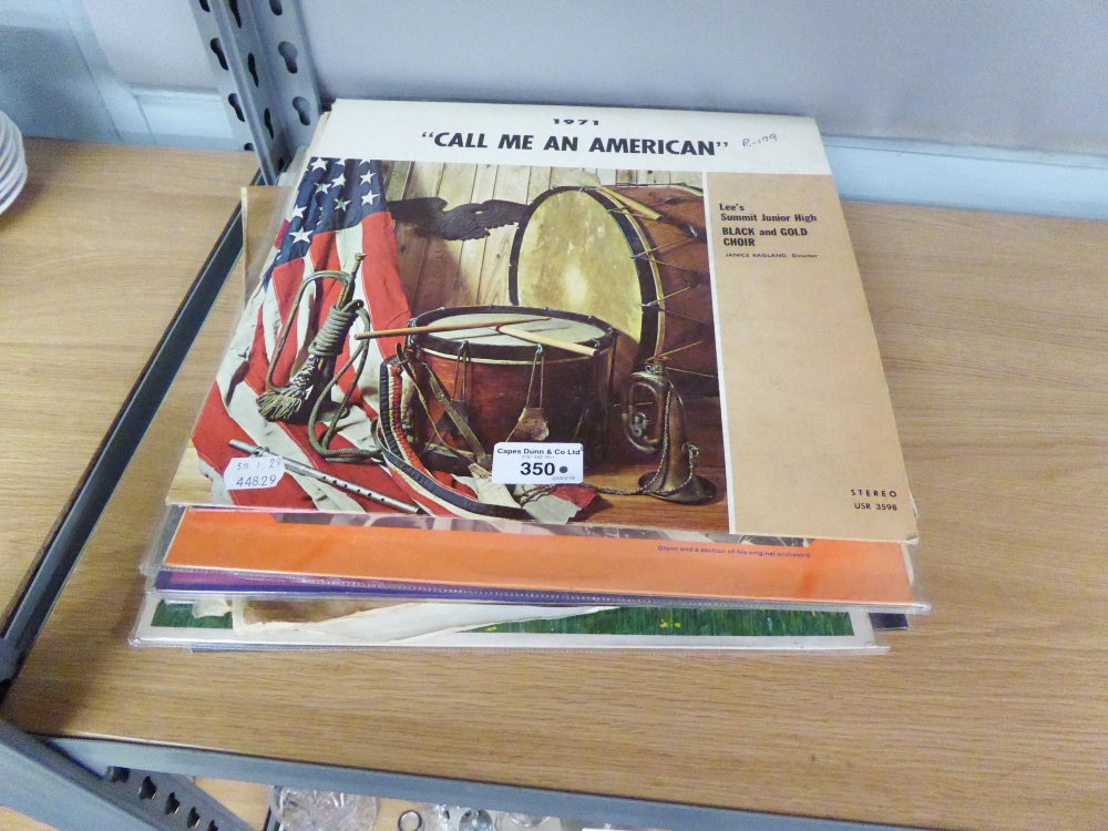 Lot 350 - A COLLECTION OF LP RECORDS TO INCLUDE; CLAIR De LUNE, PAUL ROBESON, ETC... (APPROX 15)
