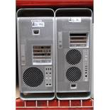 LOT OF 2 MAC PRO COMPUTERS