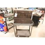 Kennedy 2 Pc tool box w/ cart