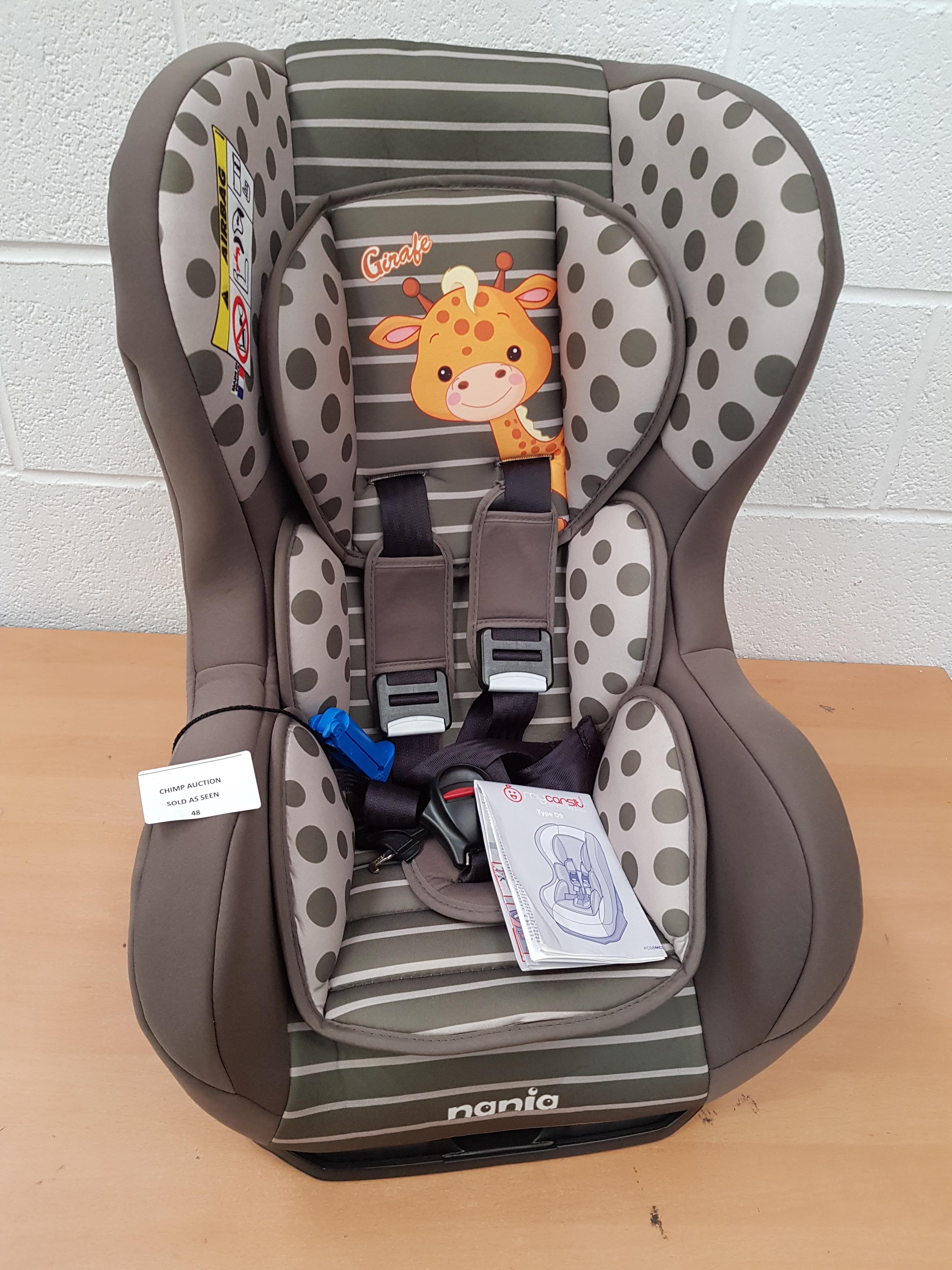 Lot 48 - Mycarsit Nania Type D9 baby Car Seat