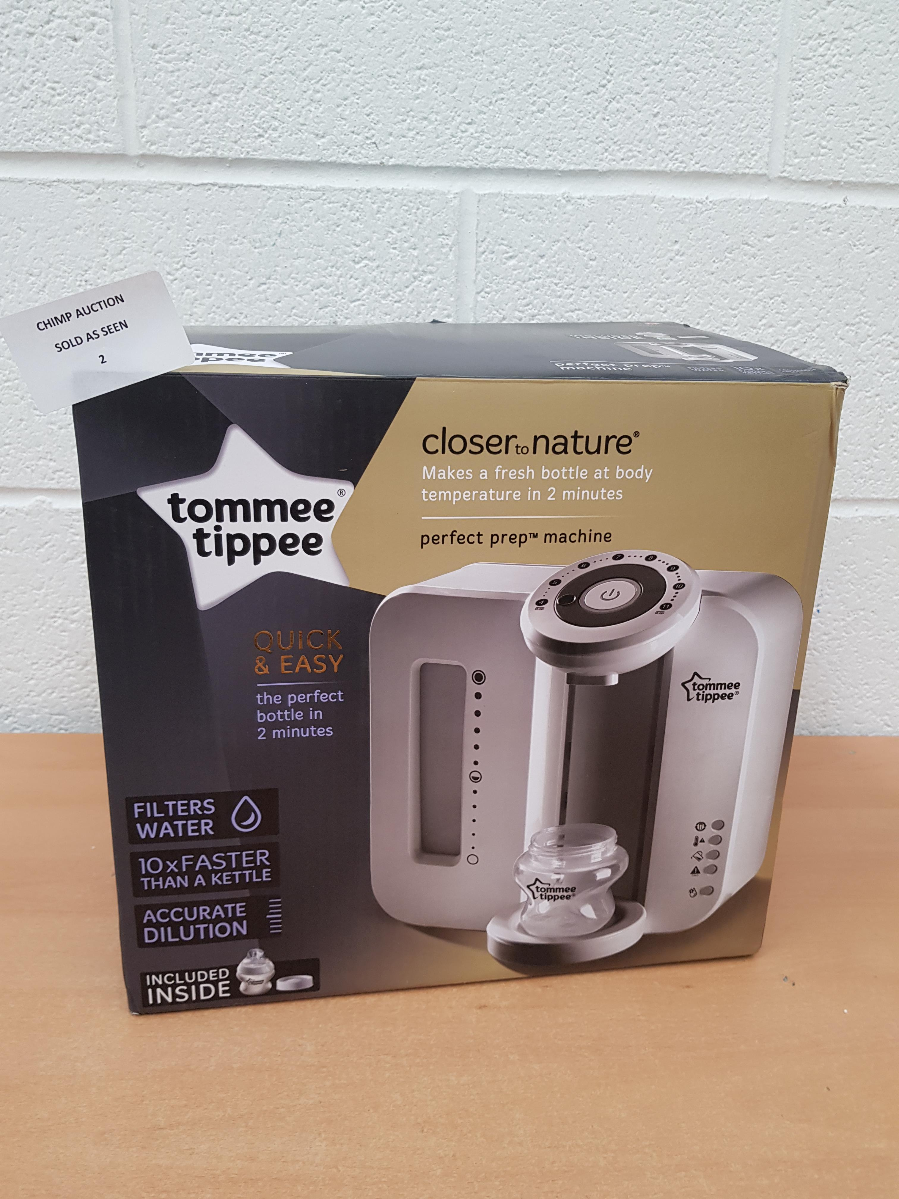 Lot 2 - Tommee Tippee Perfect Prep Machine RRP £129.99.