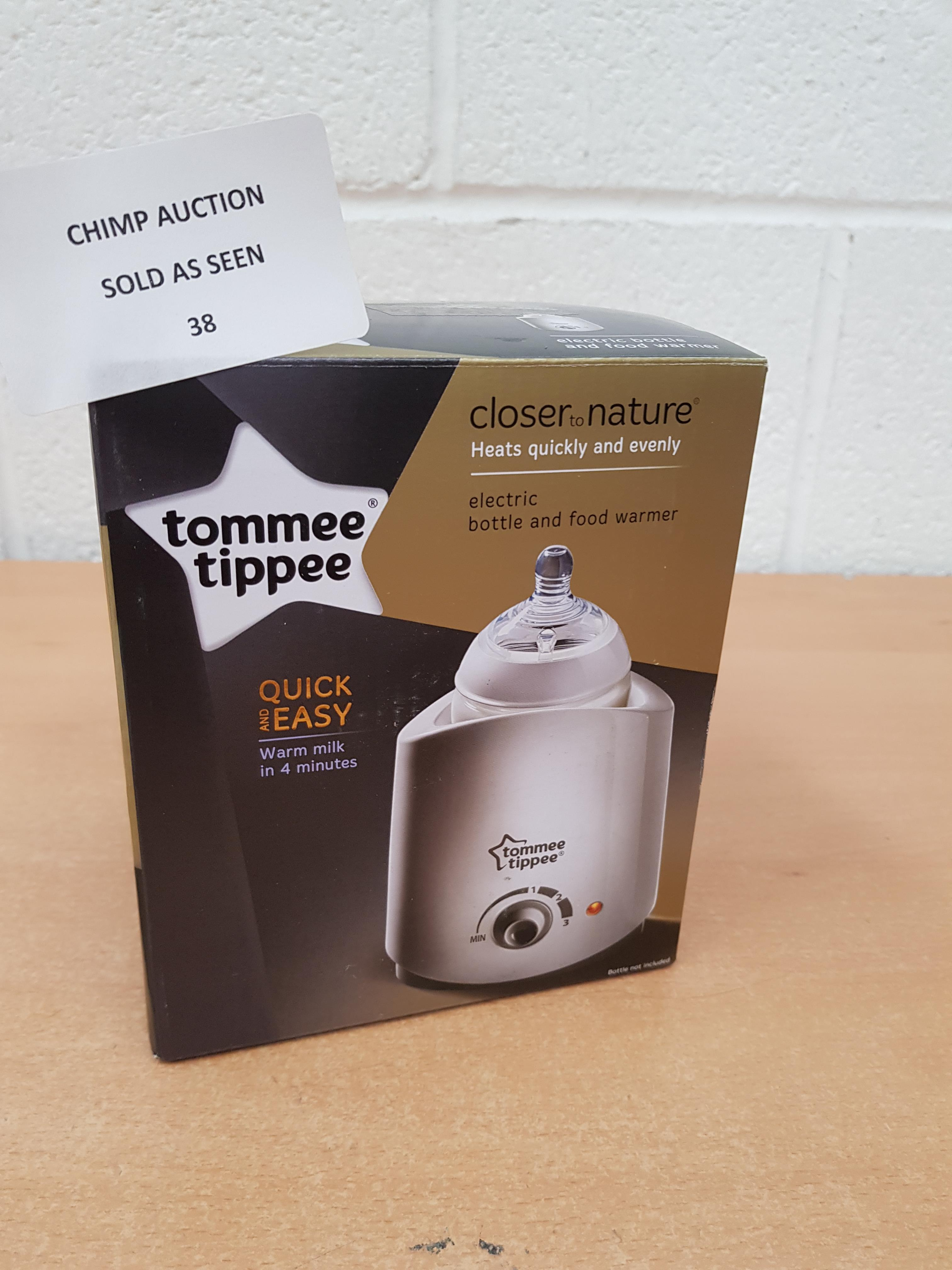 Lot 38 - Tommee Tippee electric Bottle & food warmer