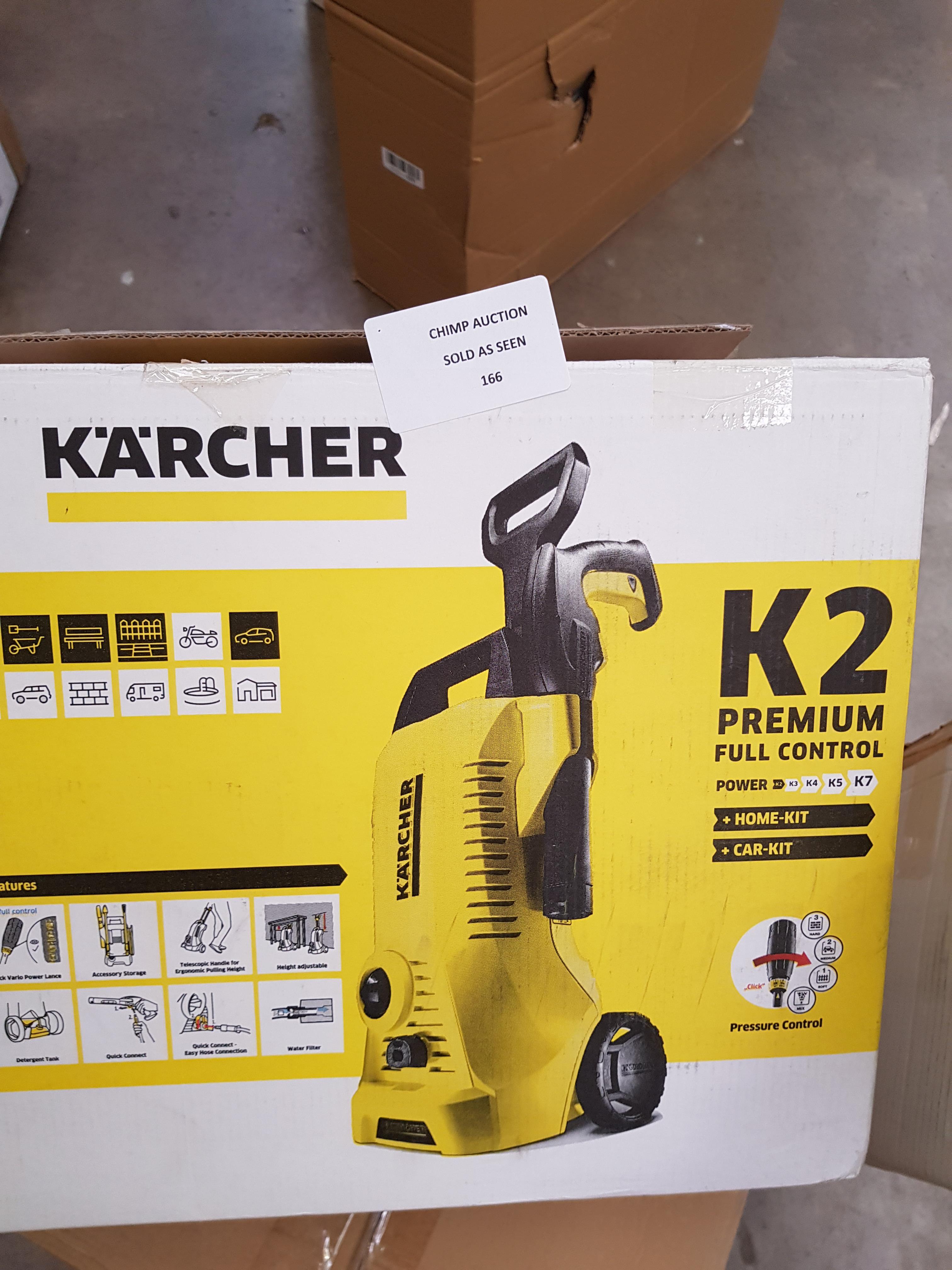 Lot 166 - Kärcher K2 Premium Full Control Home Pressure Washer RRP £169.99
