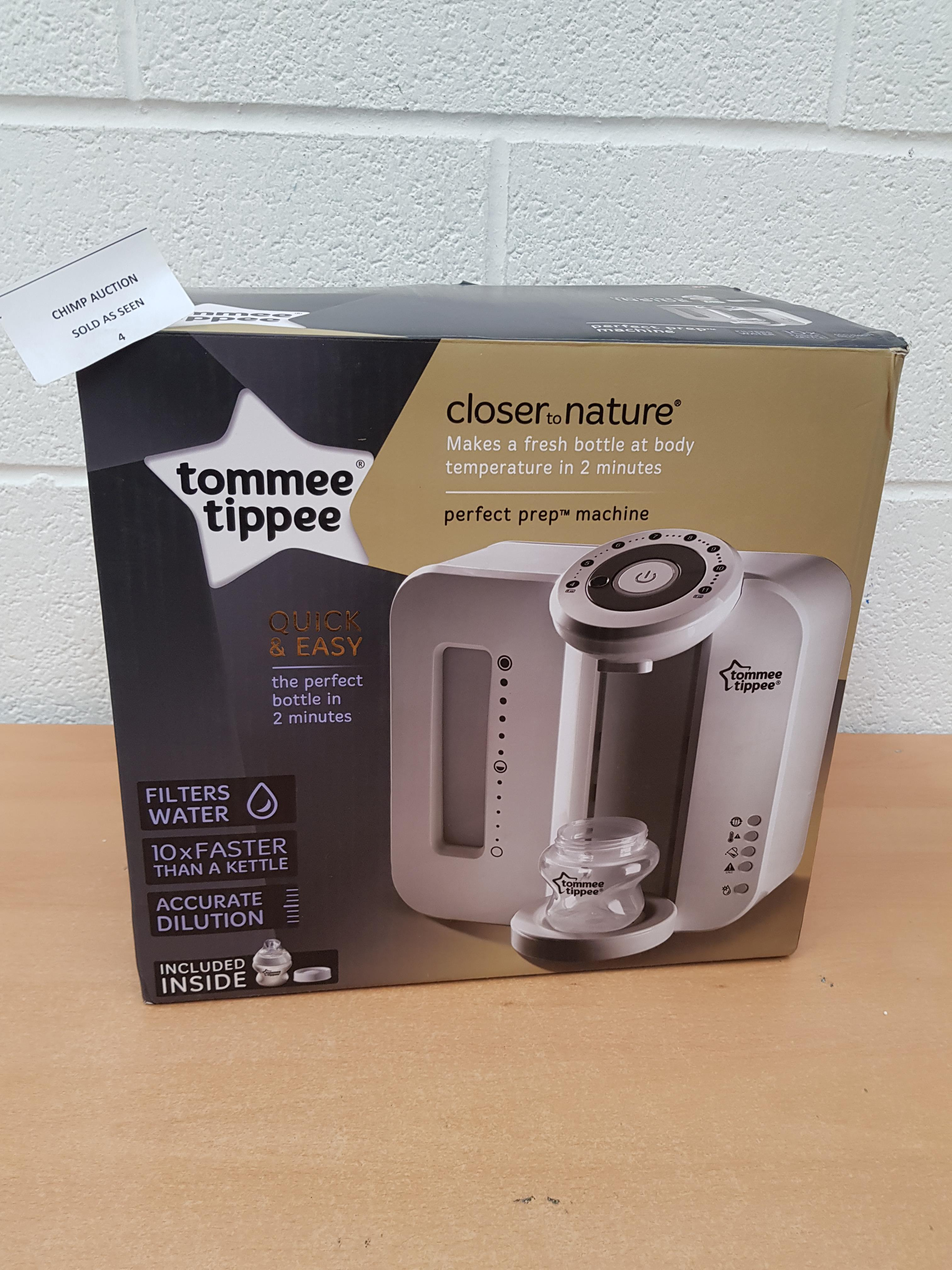 Lot 4 - Tommee Tippee Perfect Prep Machine RRP £129.99.