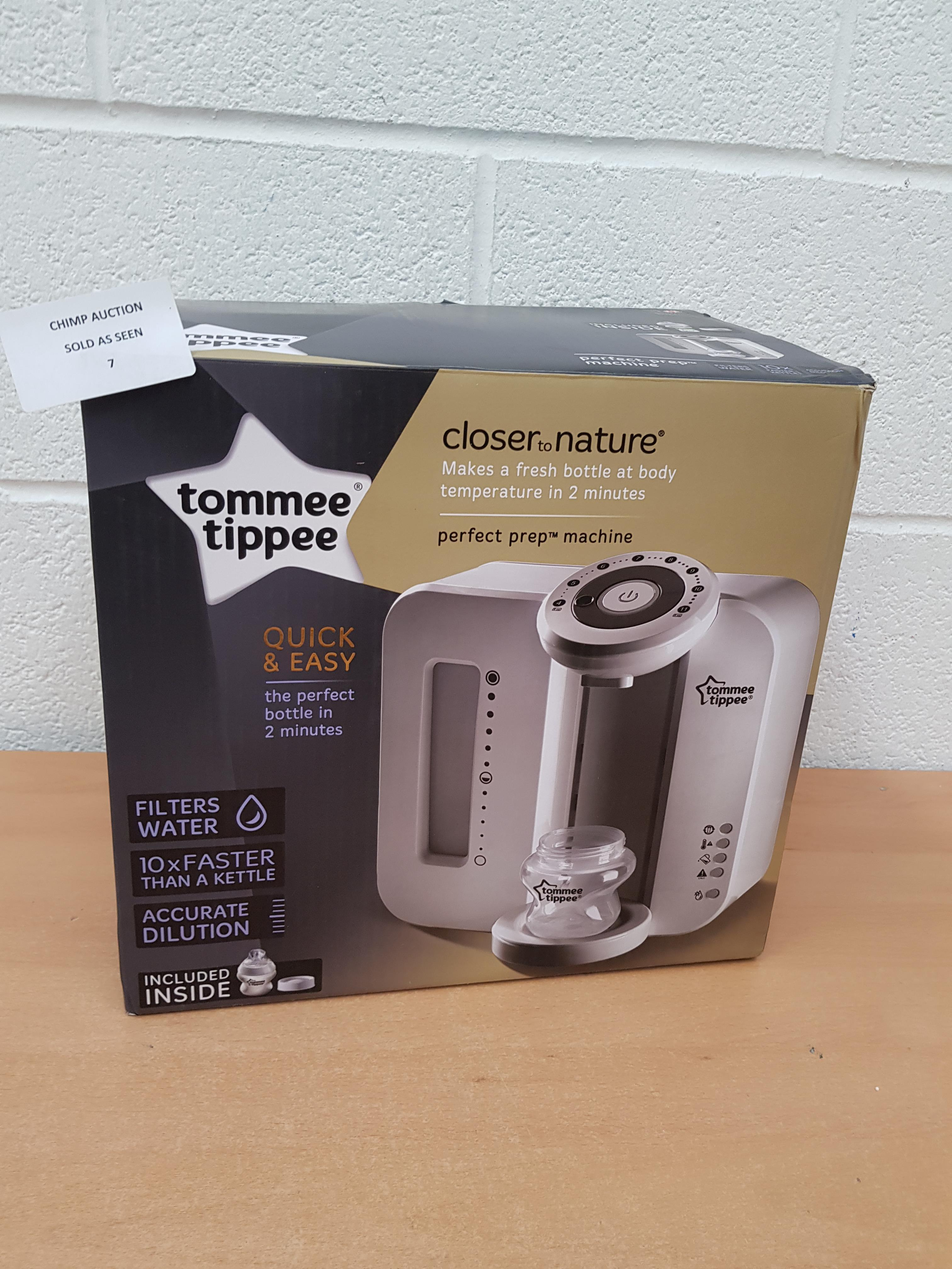 Lot 7 - Tommee Tippee Perfect Prep Machine RRP £129.99.