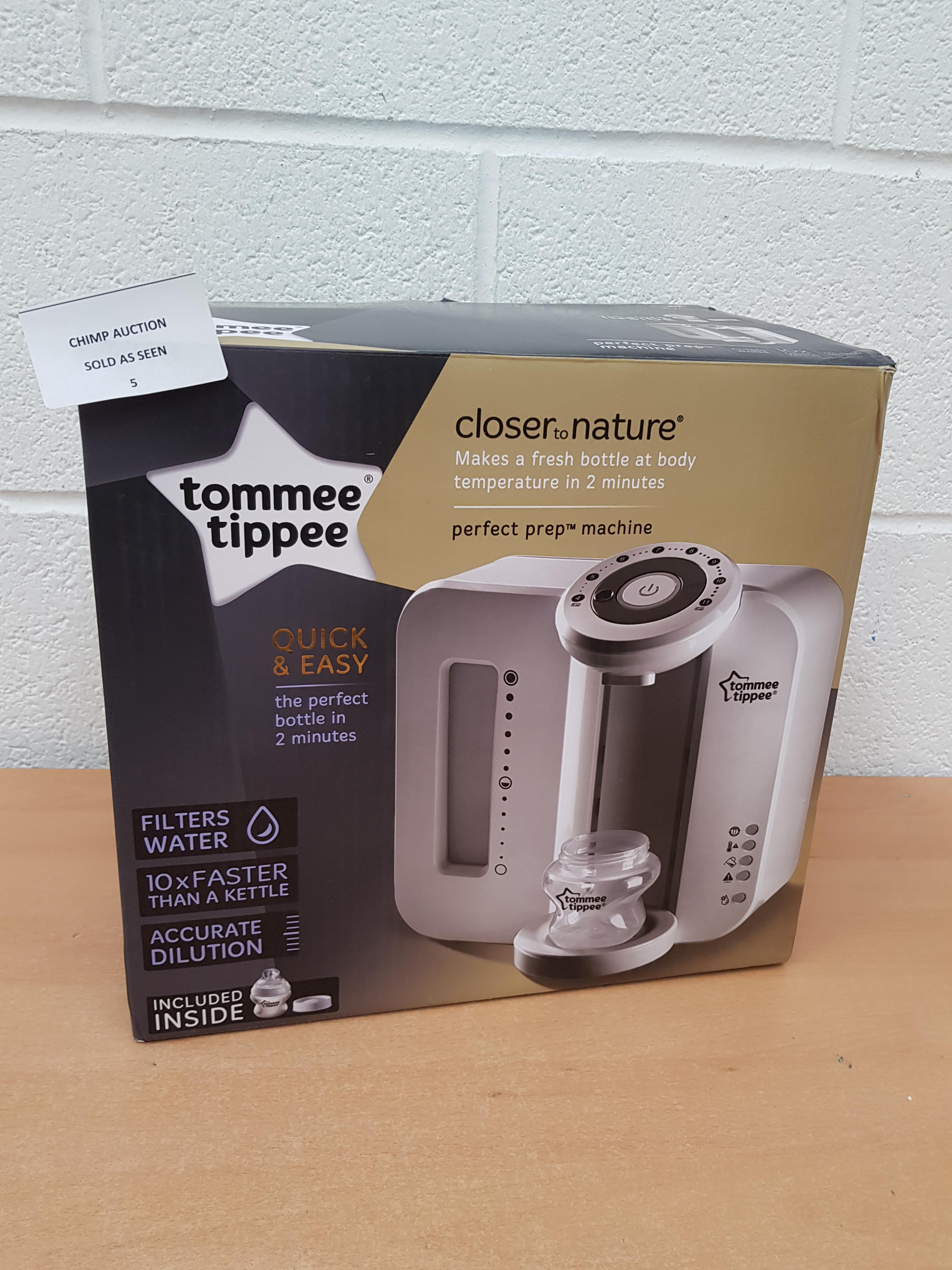 Lot 5 - Tommee Tippee Perfect Prep Machine RRP £129.99.