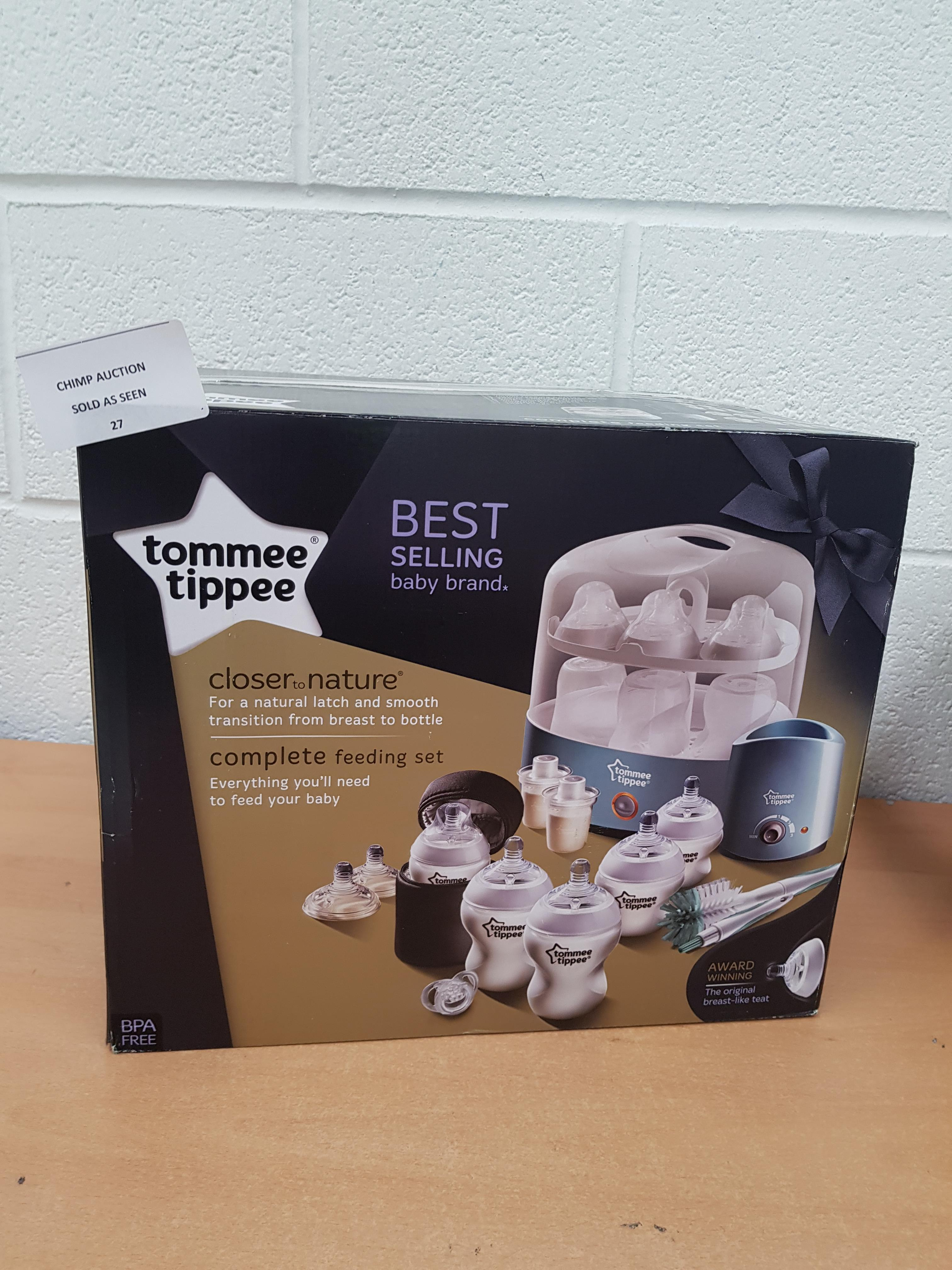 Lot 27 - Tommee Tippee Closer to Nature Complete Feeding Set RRP £179.99