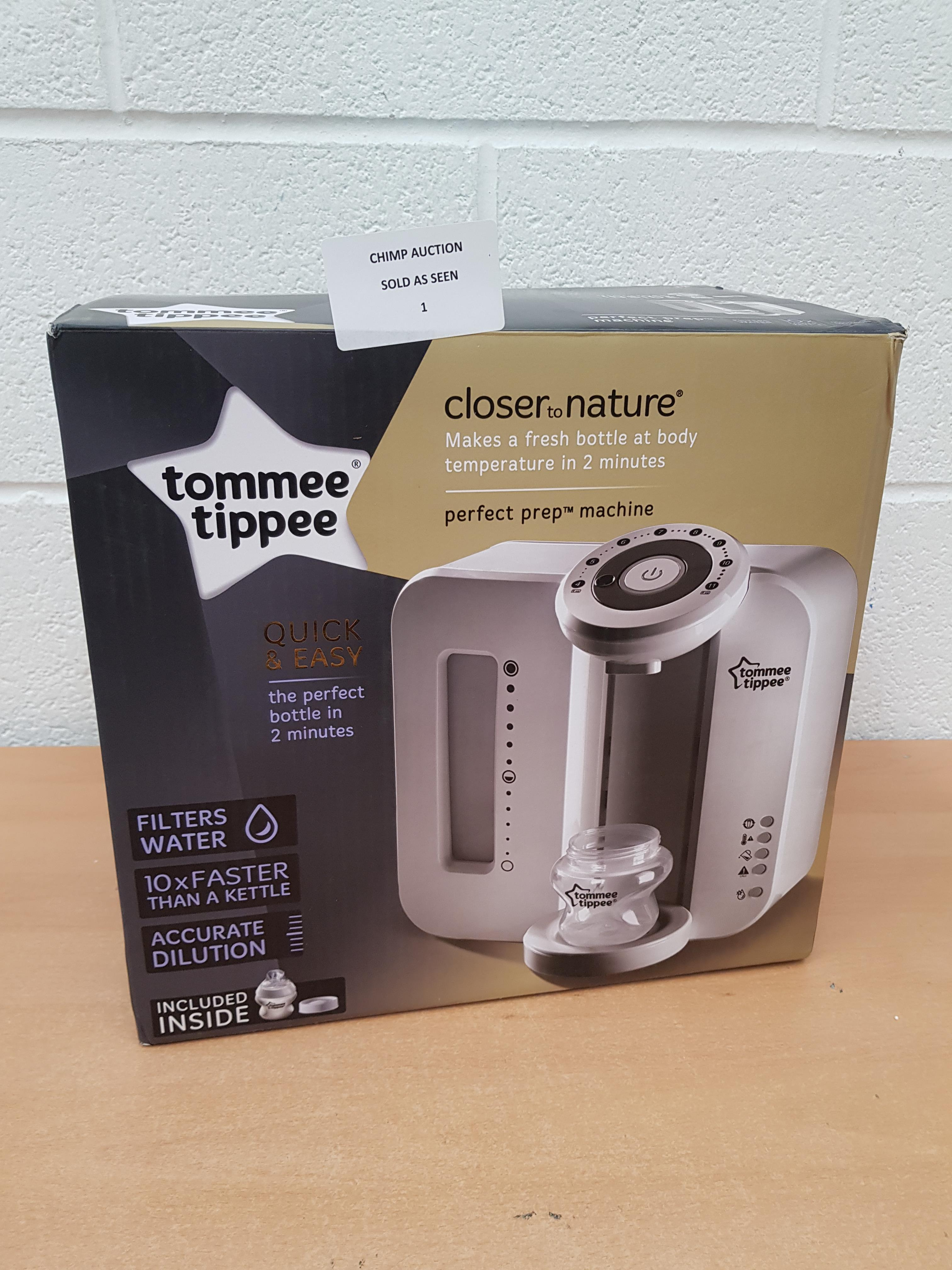 Lot 1 - Tommee Tippee Perfect Prep Machine RRP £129.99.