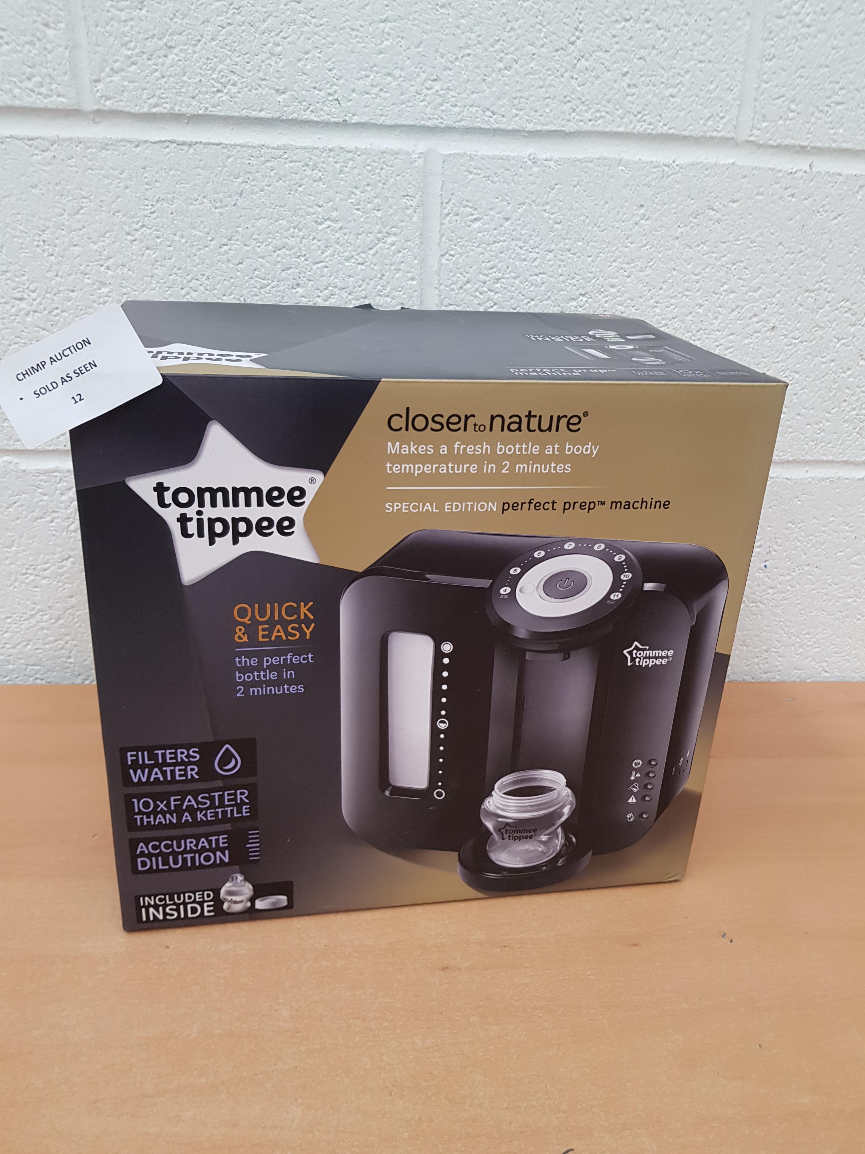 Lot 12 - Tommee Tippee Perfect Prep Machine Special edition RRP £129.99.