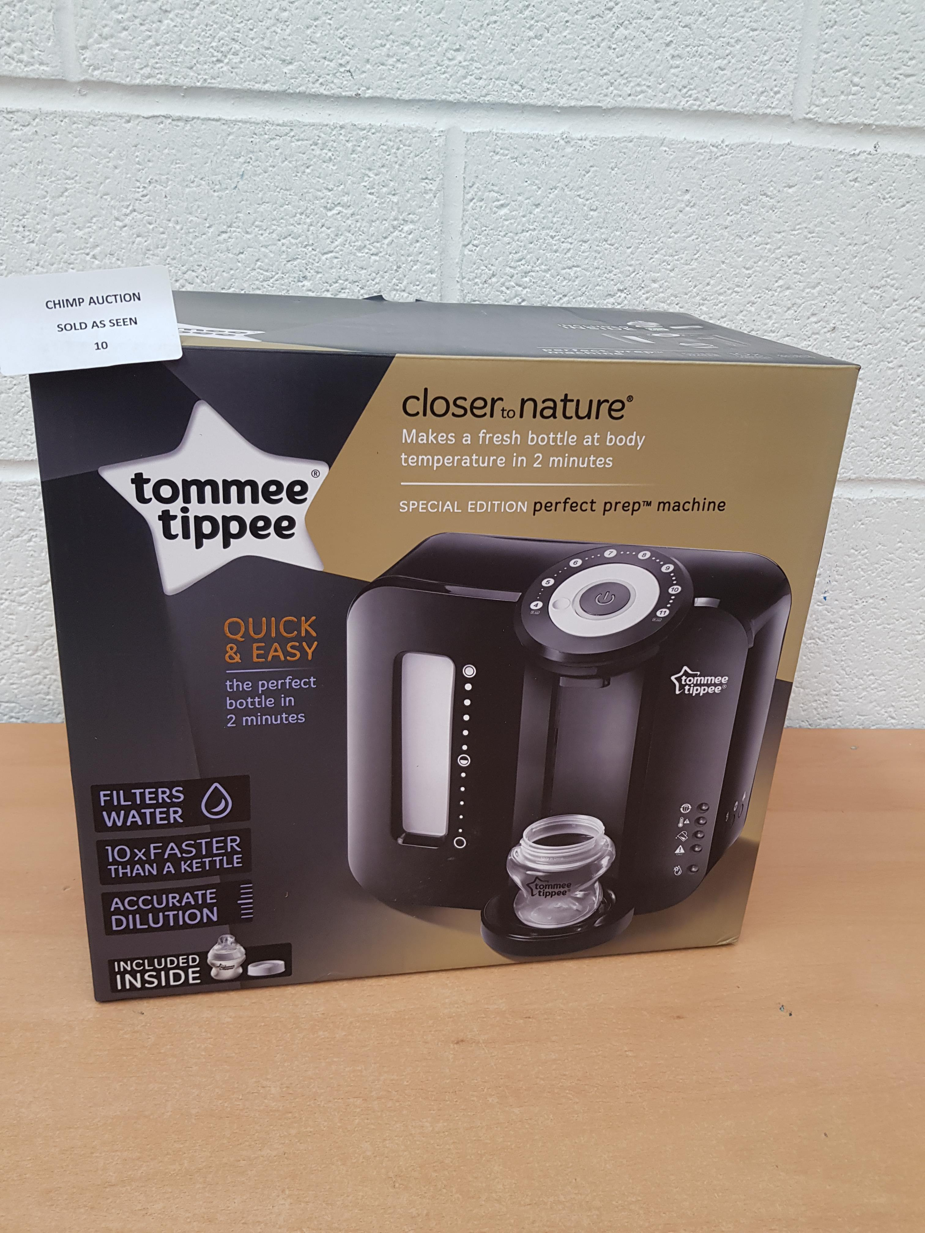 Lot 10 - Tommee Tippee Perfect Prep Machine Special edition RRP £129.99.