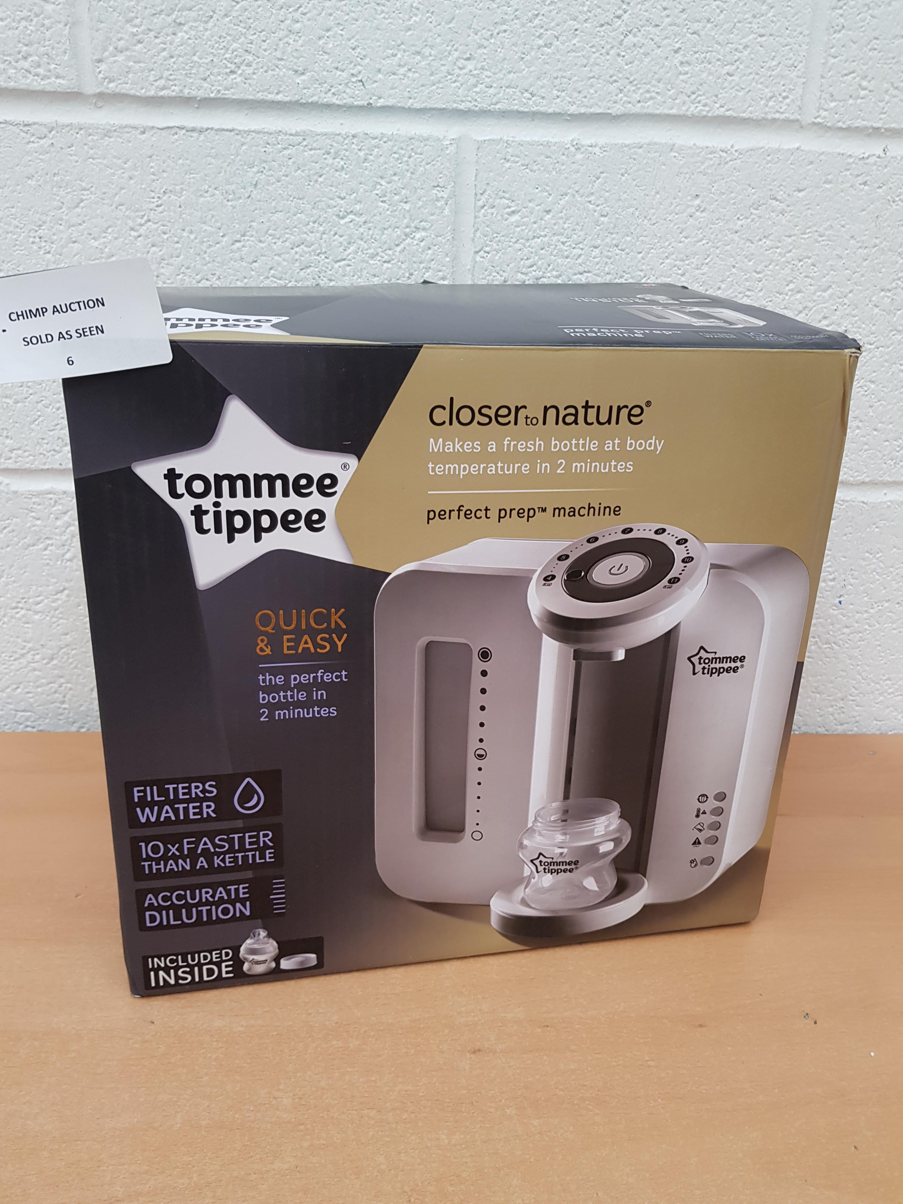 Lot 6 - Tommee Tippee Perfect Prep Machine RRP £129.99.
