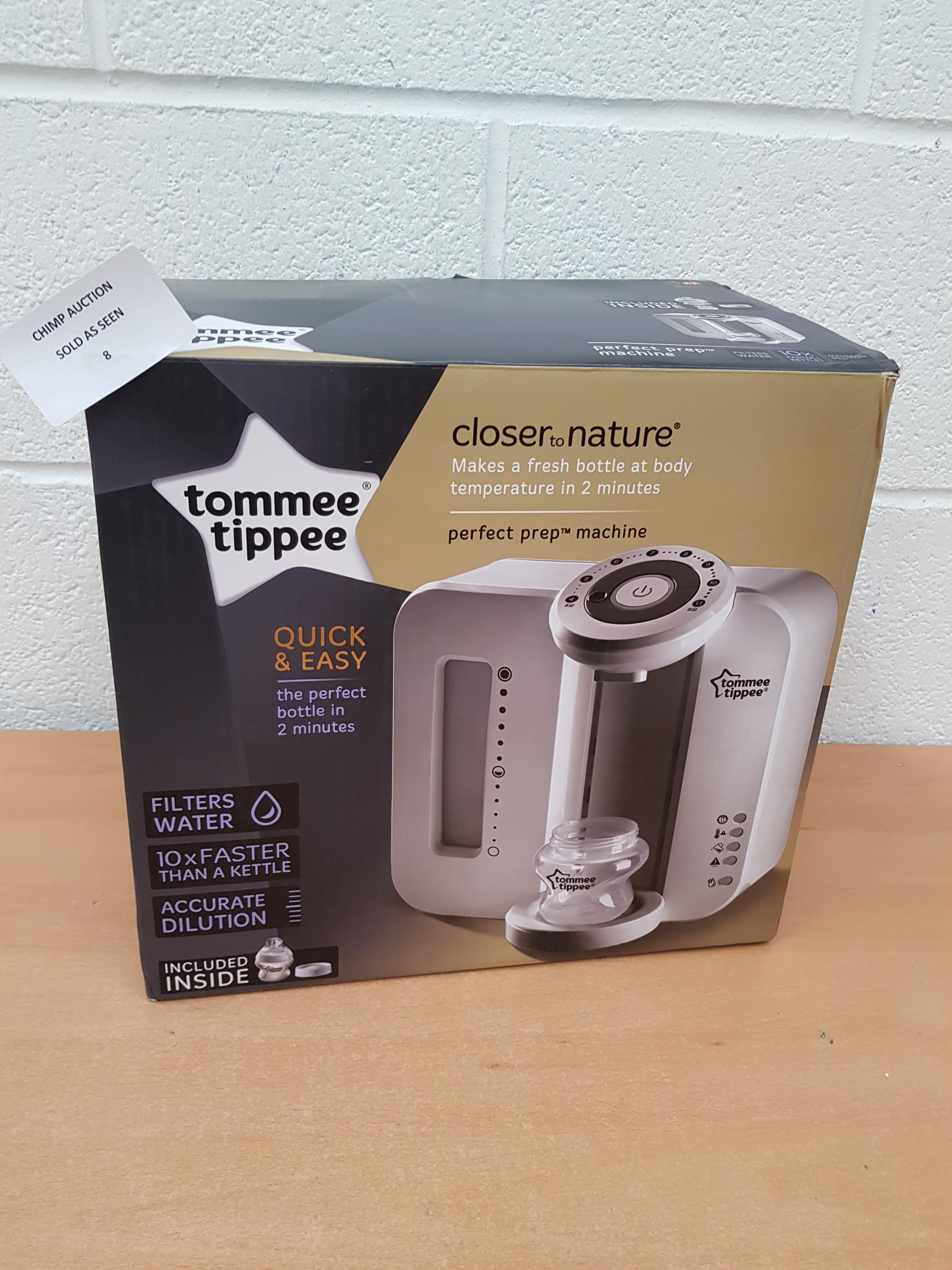 Lot 8 - Tommee Tippee Perfect Prep Machine RRP £129.99.