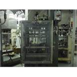 General Packaging Equipment vertical 2-up former/fill/seal/bagger, Model 70V2C, SN 009-1735, 15 in.